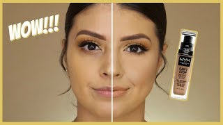 WOW!!! NYX Can't Stop Won't Stop Foundation | Review