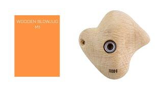 Video: WOODEN BLOWJUG M1 - Medium size wooden jug