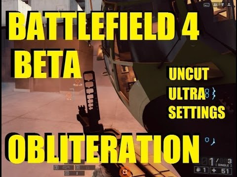 Battlefield 4 Obliteration mode gameplay on Seige of Shanghai windows 8 ultra settings full HD