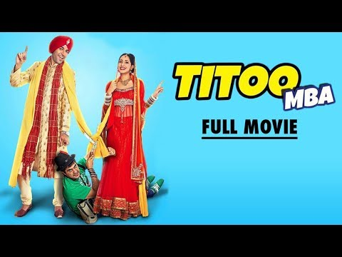 Titoo MBA - Married But Available   Full Movie HD   Latest Punjabi Movies 2017   Yellow Movies