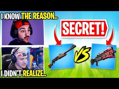 The Pump Vs. Tac Shotgun! Some Secrets You Didn't Know.. Ft. Ninja