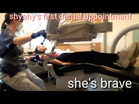 Shyshy's first appointment to dentist