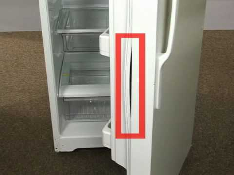 & Top Freezer Refrigerator - Door Gasket Insertion - YouTube