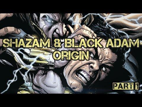 Shazam And Black Adam Origin Story Part 1 | Comic Explained | Hindi\Urdu | Speedtiger |