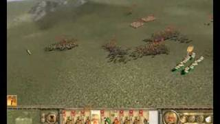 Rome Total War BI- Saxon Chronicles Episode 10 (Battle V) Dealing with Romans