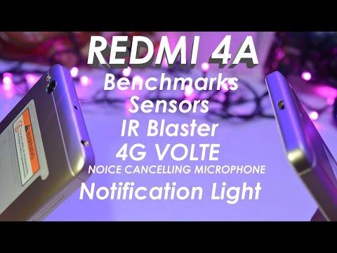 Xiaomi Redmi 4A Top Features | 4G Volte, OTG, IR Blaster, Benchmarks, Sensors etc | Data Dock