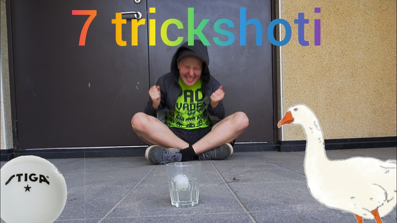 7 TrickShoti PingPongi Palliga!