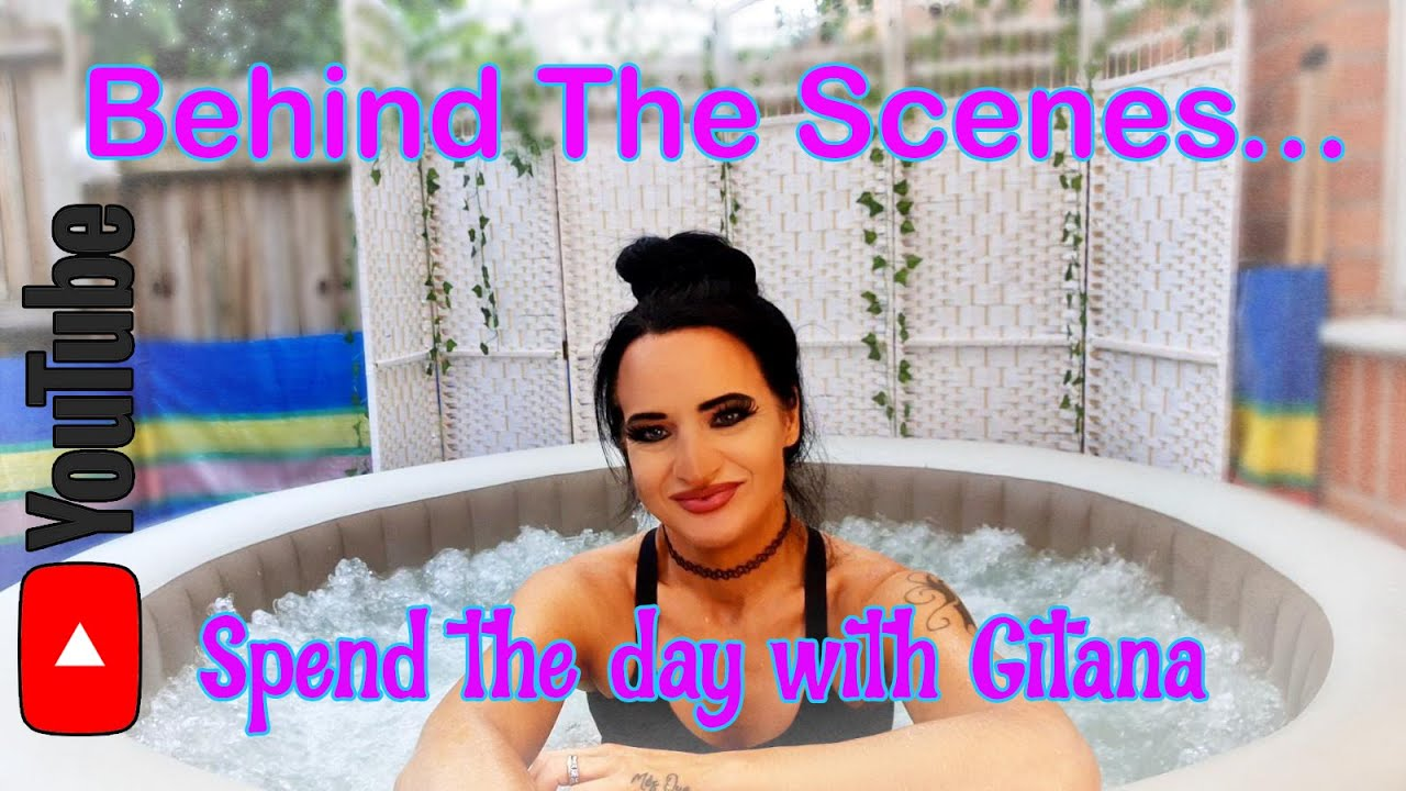 Behind the Scenes... Spend the day with Gitana