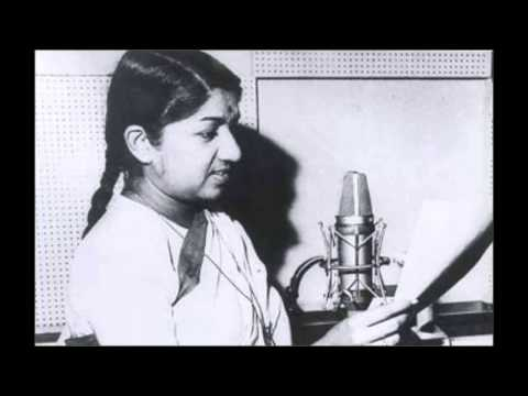lata mangeshkar 1st hit song  (1949)