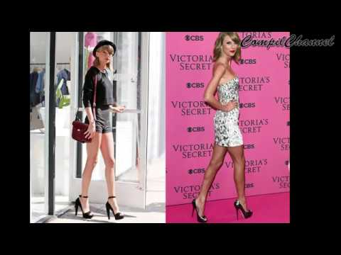 Taylor Swift Best Long Legs with Heels Compilation!