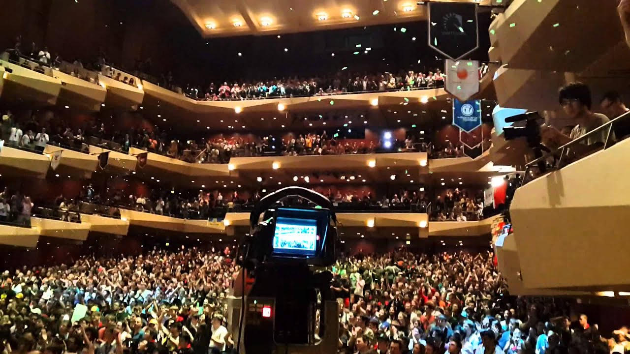 TI3 NaVi Vs Alliance Final Moments Stage View Player