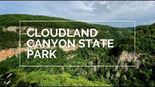 BEST OF CLOUDLAND CAΝYON STATE PARK   Georgia Travel   Cloudland Canyon Hiking   Georgia Waterfalls