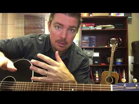 Three Wooden Crosses Randy Travis Beginner Guitar Lesson Youtube