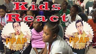 Kids React to PPAP - Pen Pineapple Apple Pen
