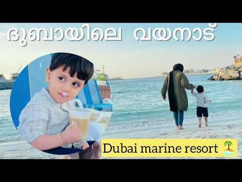 Staycation @dubai marine beach resort nd spa 🏝