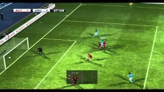 PES 2012 Football Life become a Legend International Cup 1st knockout 8-2 (vs Austria)