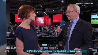 Bundesparteitag Die Linke: Katja Kipping im Interview am 08.06.18