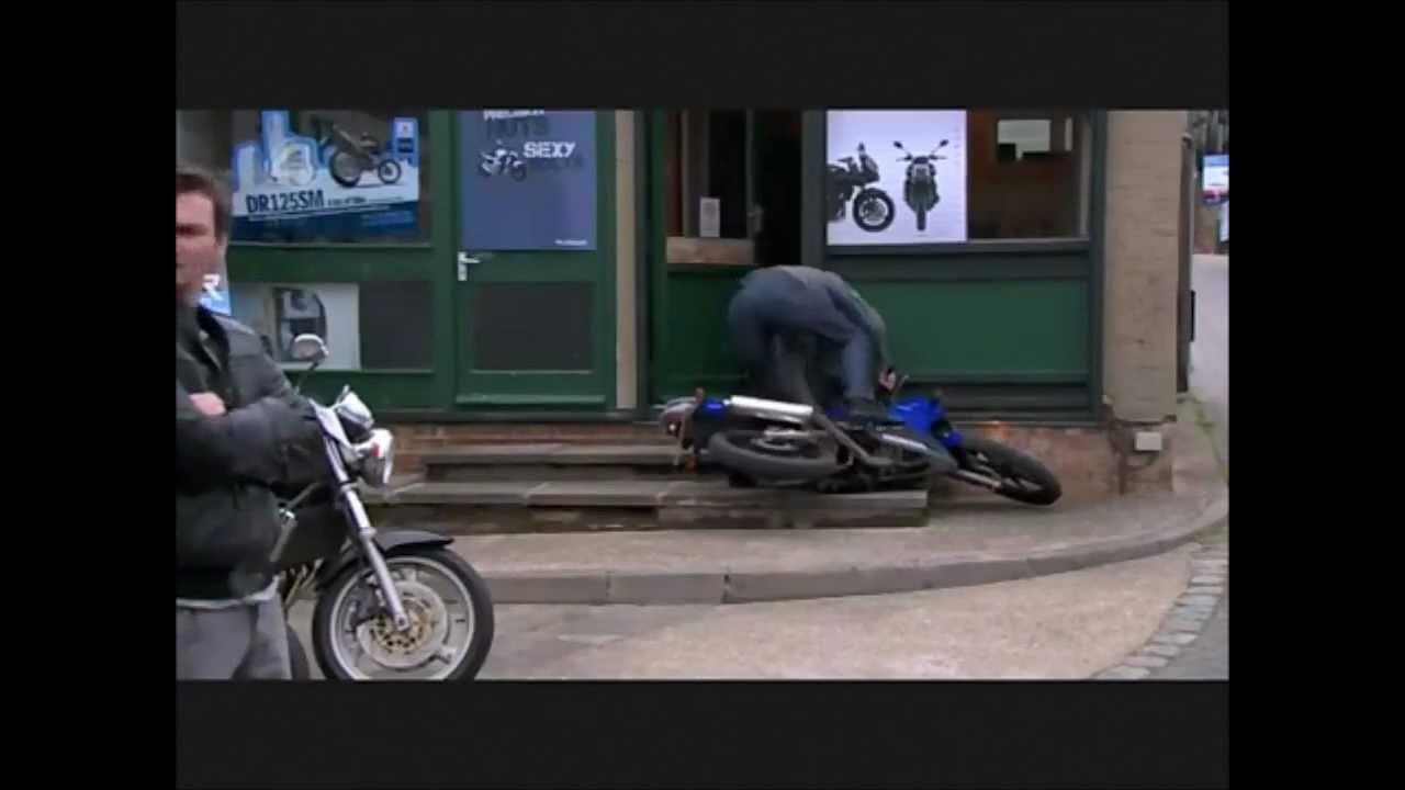 Inbetweeners Motorbike Crash Youtube