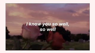 Gambar cover xfruge // i know u so well ft. shiloh (lyrics) ♡