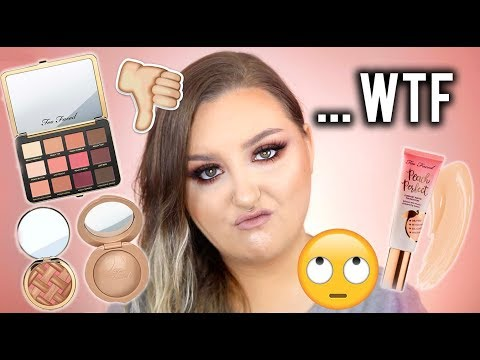 UH.. WTF!? | HIT OR SH*T? NO BS REVIEW TOO FACED PEACHES & CREAM COLLECTION