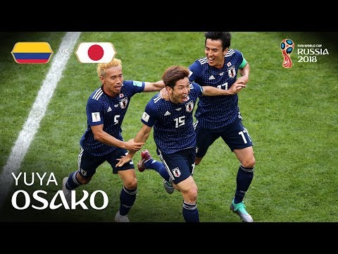 Yuya OSAKO Goal  - Colombia v Japan - MATCH 16