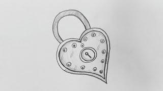 valentines drawings pencil easy drawing step steps