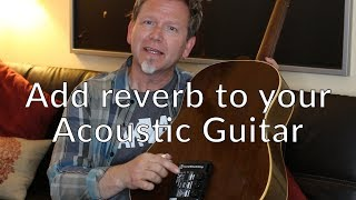 TONEWOOD AMP - Add Reverb to your Acoustic Guitar - Guitar Discoveries #8