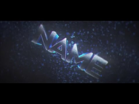 FREE Blue Dust After Effects & Cinema 4D Intro Template #701 + Tutorial