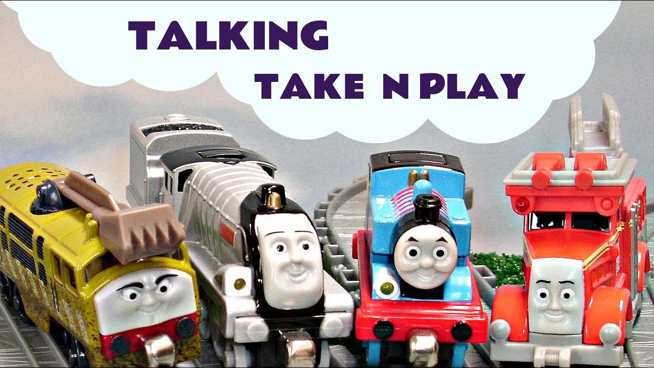 talking take n play trains thomas and friends diesel 10 spencer