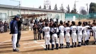 流山ホークスvs豊四季イーグルス B 2017.3.5