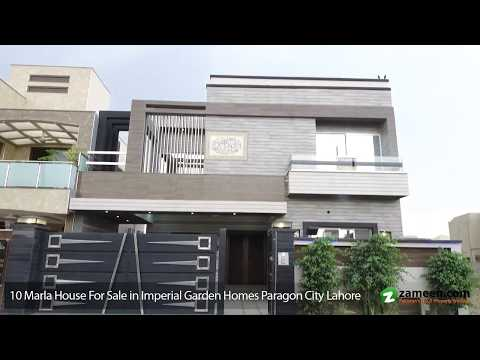 10 MARLA HOUSE FOR SALE IN IMPERIAL GARDEN HOMES PARAGON CITY LAHORE