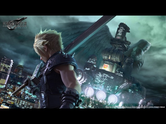 Final fantasy 7 Fanfare Leveling up like a boss -By Abstract Entertainment