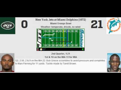 Week 6.5: New York Jets @ Miami Dolphins (1972)