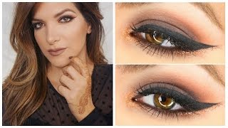 Bronze Warm Smokey Eye Fall Makeup Tutorial | BEETABEAUTY