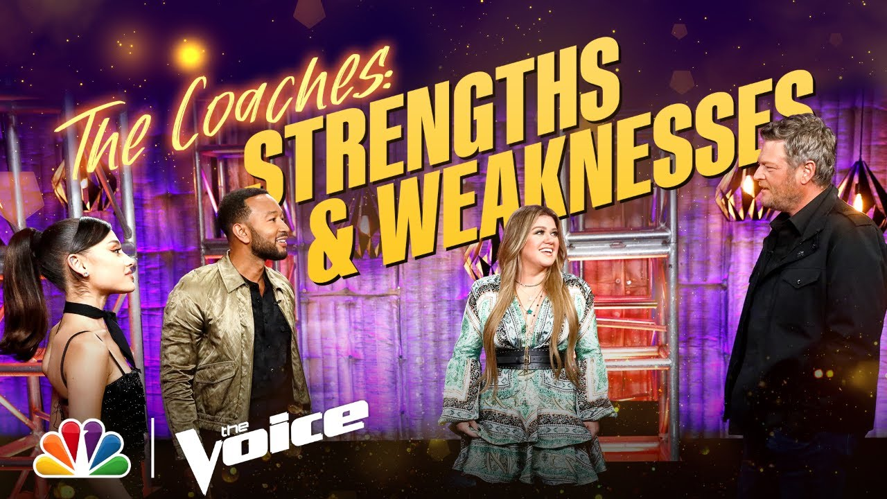 Kelly, Ariana, John and Blake Reveal Each Others' Strengths and Weaknesses | The Voice 2021