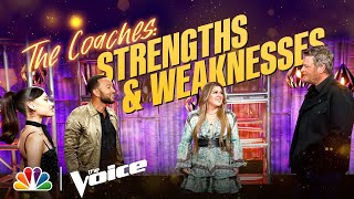 Download Kelly, Ariana, John and Blake Reveal Each Others' Strengths and Weaknesses | The Voice 2021