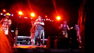 The Village People live on stage in Royal Oak, MI at Arts, Beats & ...