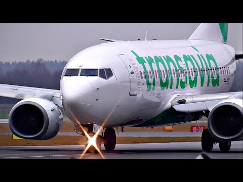 WINTER TRAFFIC | Planespotting at Salzburg Airport | 2016 |  ✈