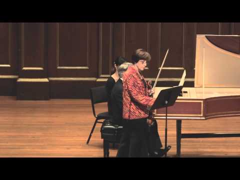 Miriam Fried plays Bach Sonata No.3 BWV 1016 (made by SiMon) in 1080p HD