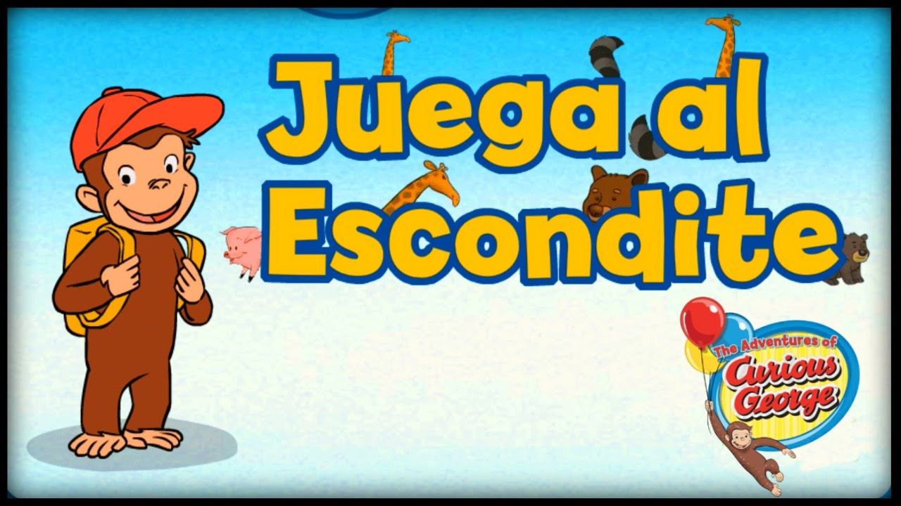 ♡ Curious George / Jorge el Curioso Juega Al Esondite Juego ...