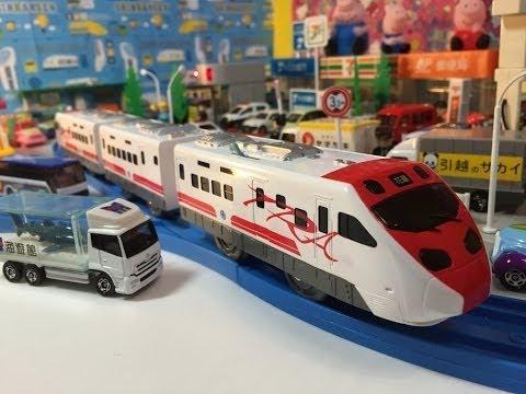 Taiwan Railways Administration Puyuma Express at Tomica Town【Takara TOMY Plarail】01627 en
