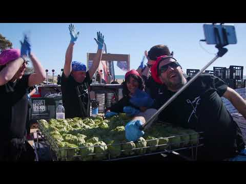 Josper Guinness World Records | 1.150 grilled artichokes at once