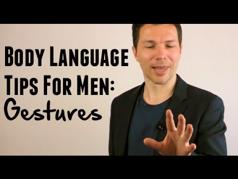 Body Language That Attracts Women (Part 3) - Gestures That Can Build Attraction In Women!