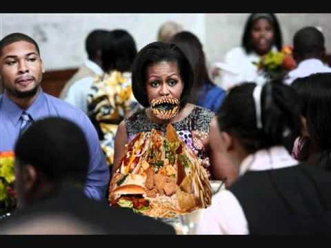 Michelle Obama's Historic 1,700 calorie lunch
