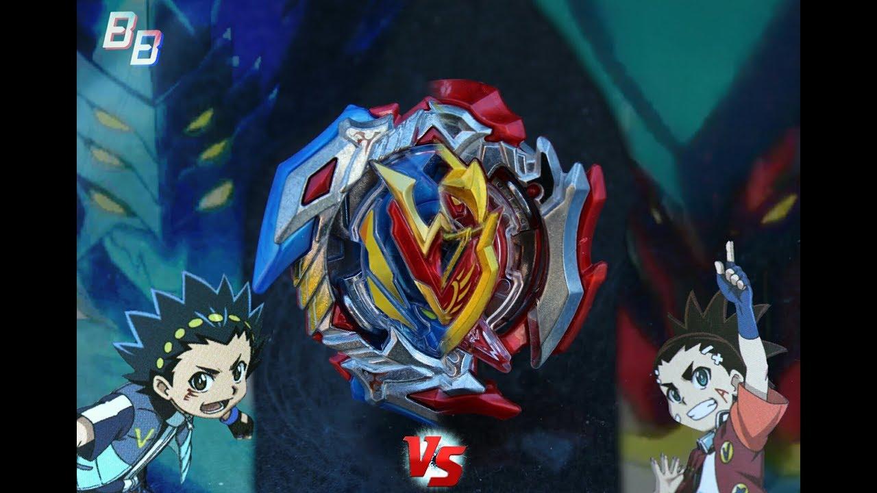Winning Valkyrie .12.Vl Vs. Z Achilles .11.Xt - Beyblade