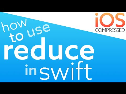 How to use Reduce in Swift! 60 seconds thumbnail
