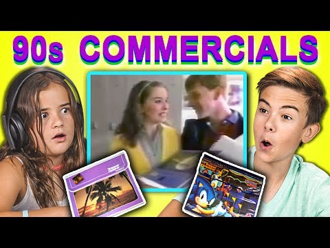KIDS REACT TO 1990s COMMERCIALS: Trapper Keepers!