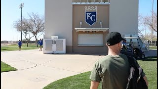 AMAZING access at Spring Training -- Rangers & Royals morning workouts thumbnail