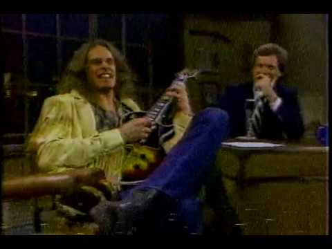 Ted Nugent On Letterman Early 80's (Part 1 Of 2)