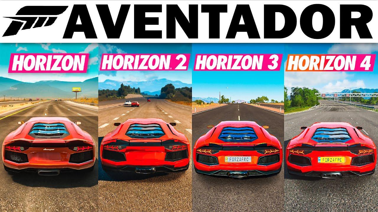 Forza Horizon | Has The Lamborghini Aventador Gotten Faster?
